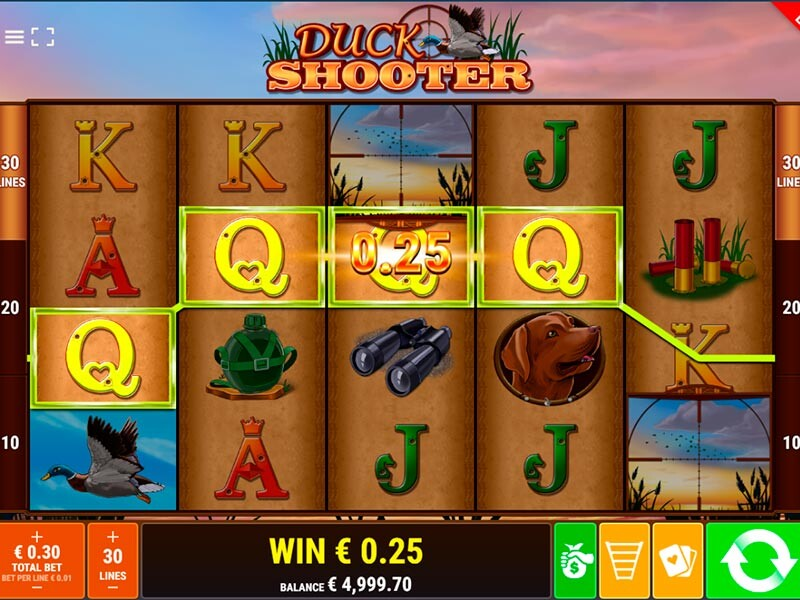 Duck Shooter Online Spielautomat: Vollständige Bewertung des Slots