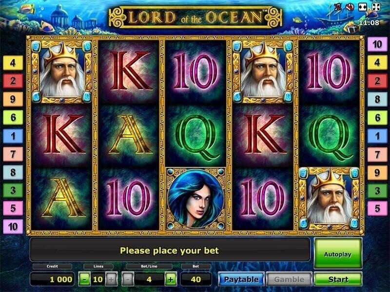 Lord of Ocean. Kleine Review des Lord of the Ocean Slots
